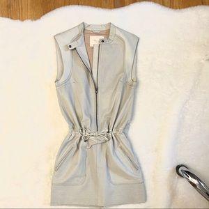 NWT Maje Leather Dress